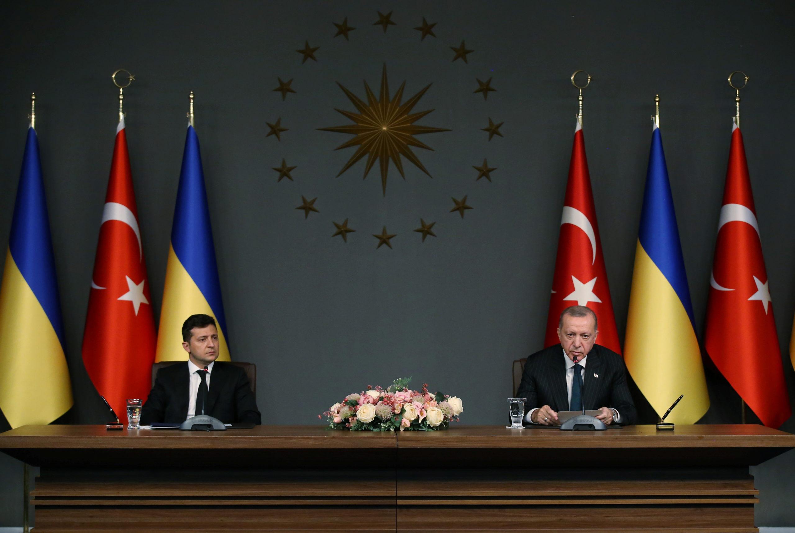 Ердоган та Зеленський