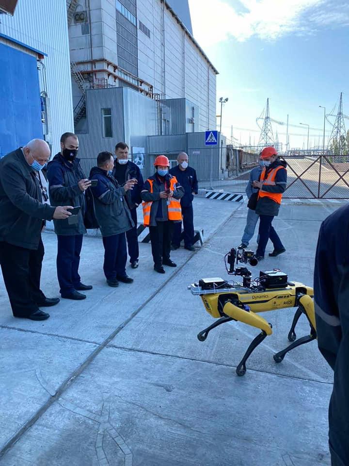 У Чорнобильській зоні вперше рівень радіації заміряв робот-собака Boston Dynamics