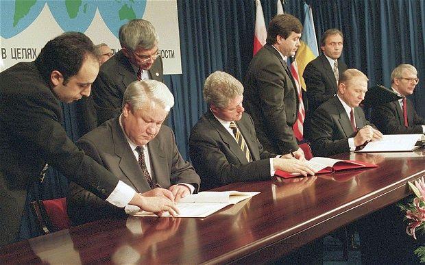Підписання Будапештського меморандуму