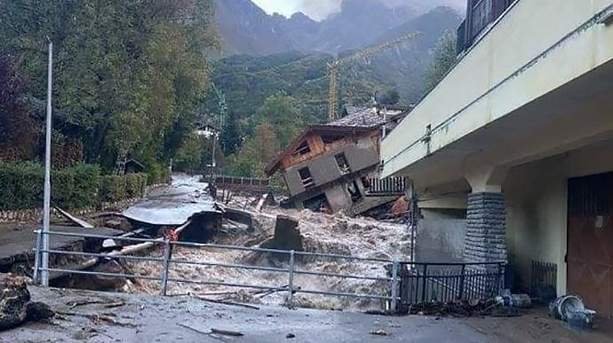 Італія шторм