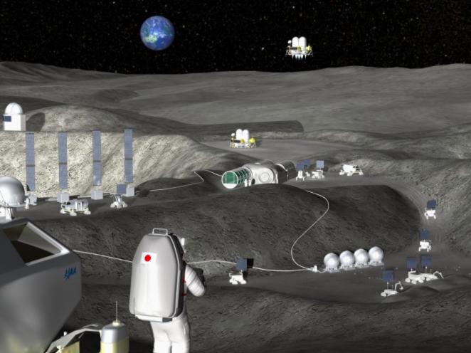 Японія планує до 2035 року побудувати завод на Місяці