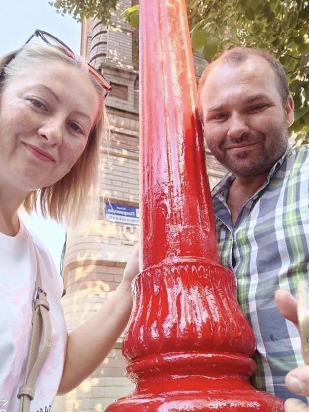 Володимир Дворниченко і Наталія Сердюк