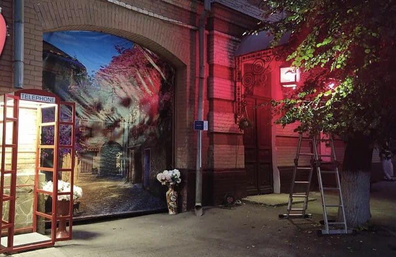 вуличні ліхтарі Суми
