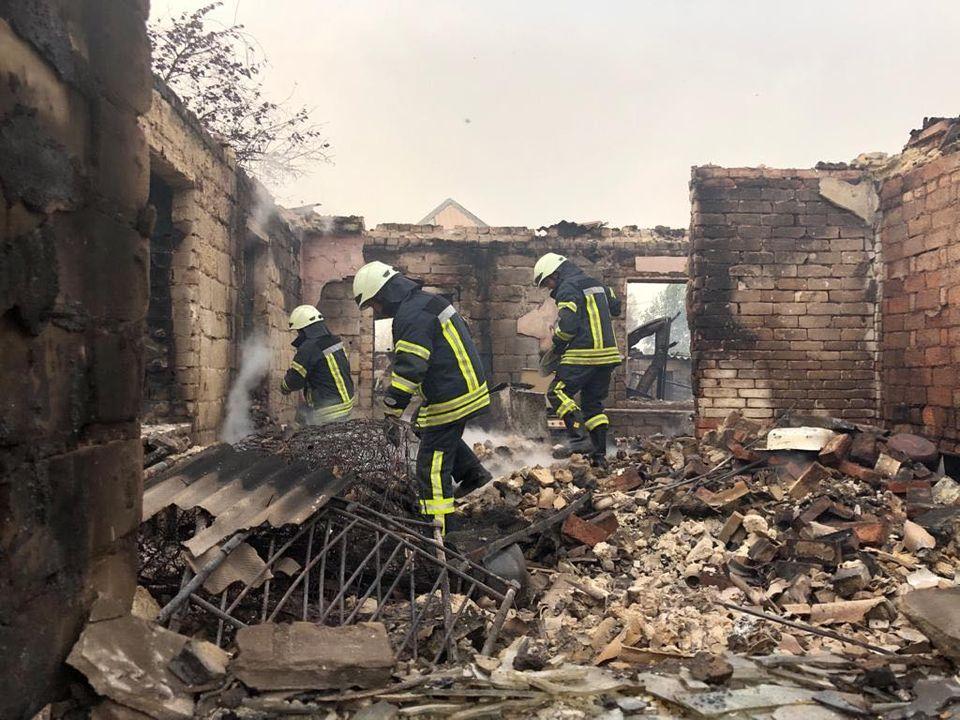 ліківідація пожеж на луганщині