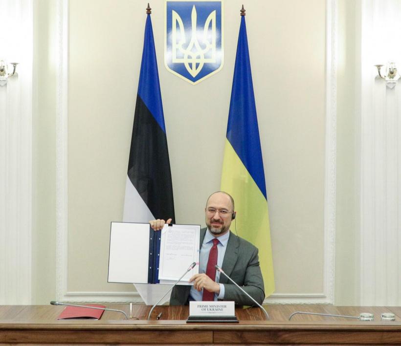 україна естонія