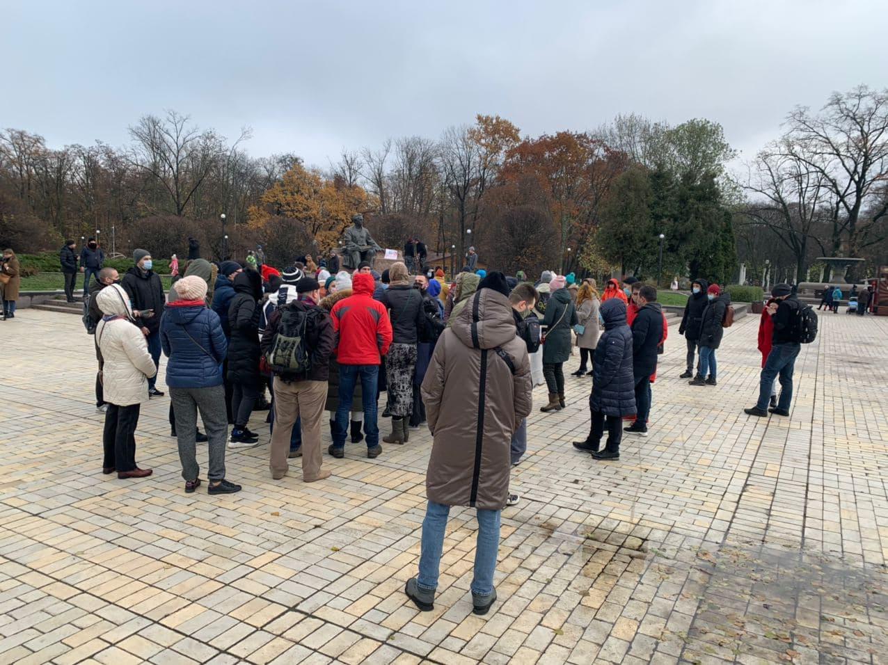 протест голосіївський парк