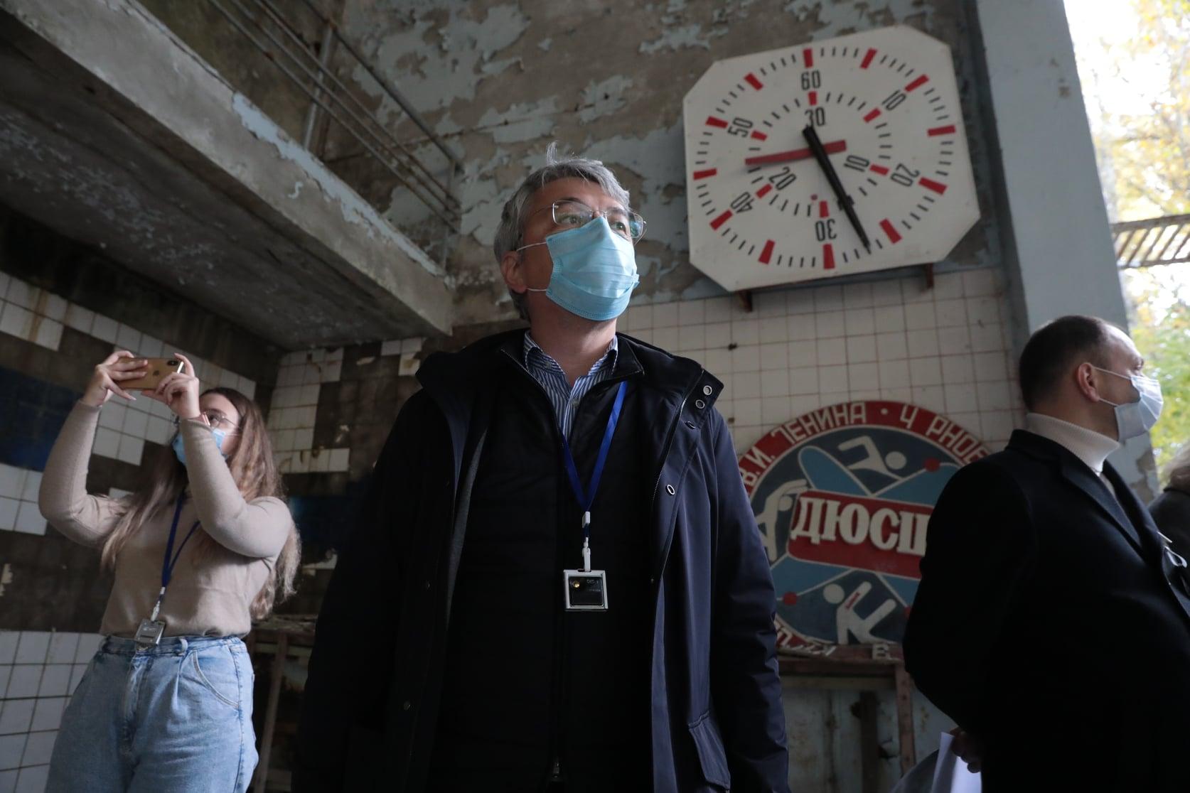 Олександр Ткаченко в Чорнобилі