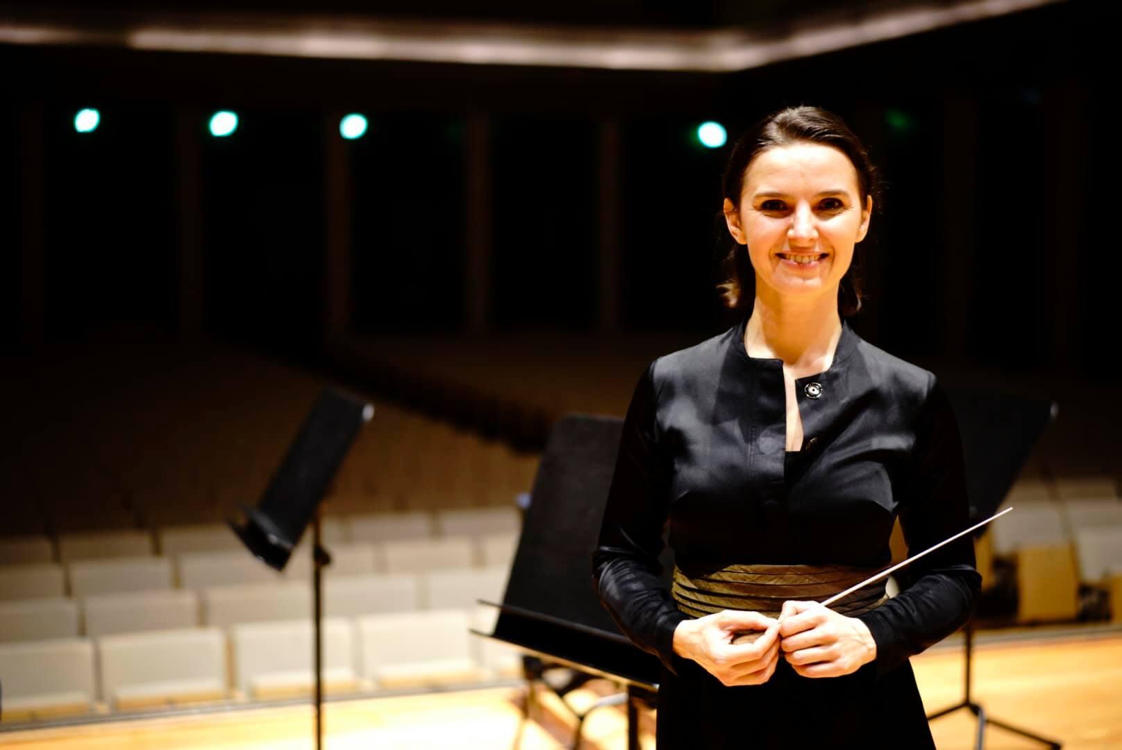 Українська диригентка Оксана Линів
