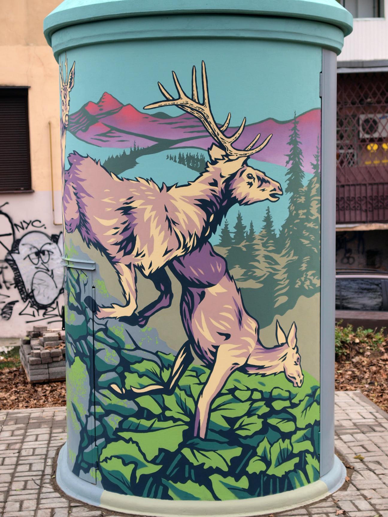 В Івано-Франківську з'явився новий стріт-арт: фото