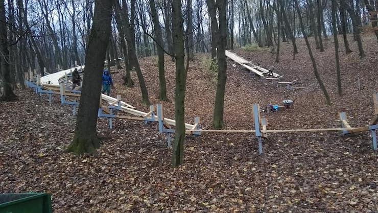 Мешканці Голосієва протестуватимуть проти будівництва атракціонів у Голосіївському парку