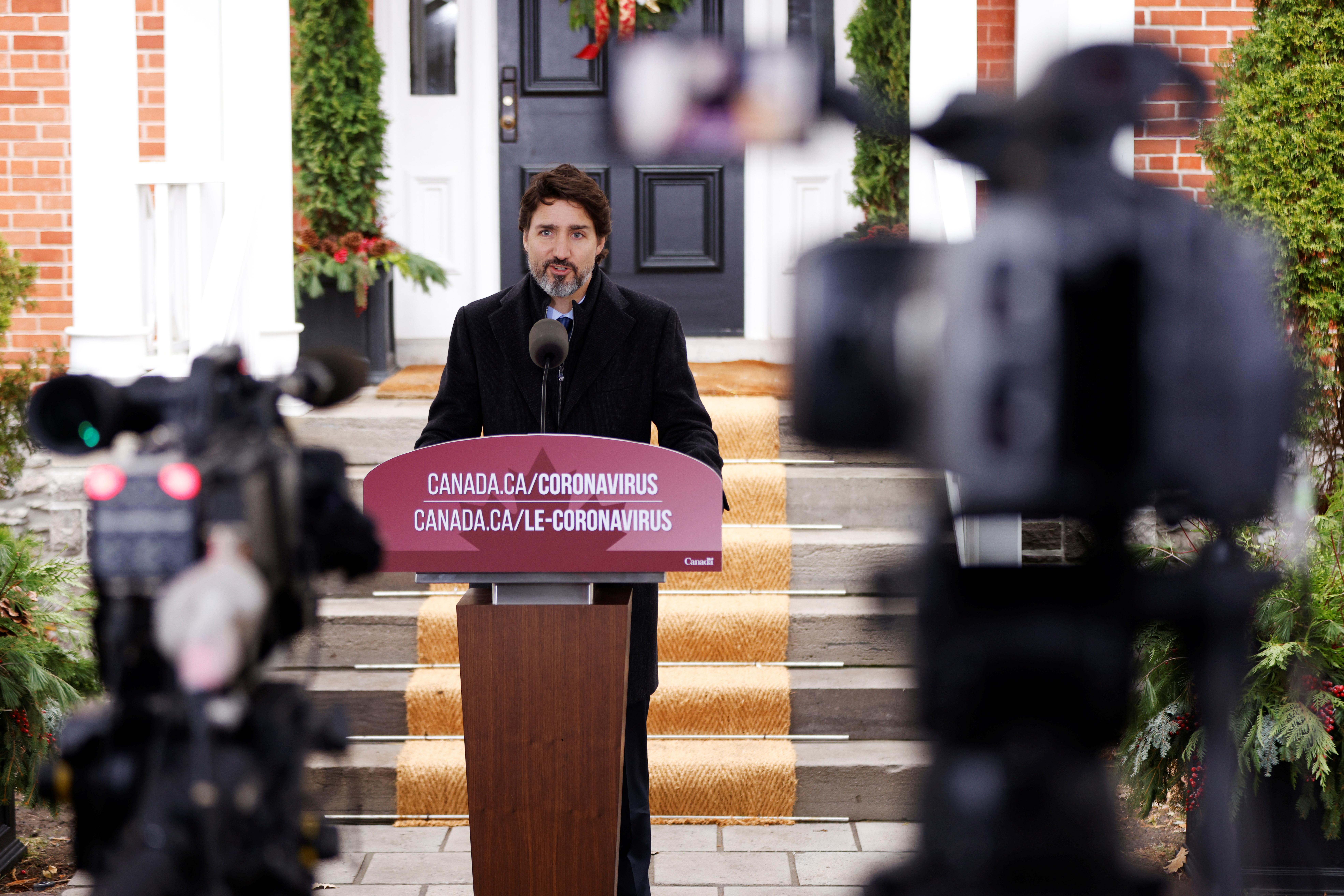 Прем'єр-міністр Канади Джастін Трюдо