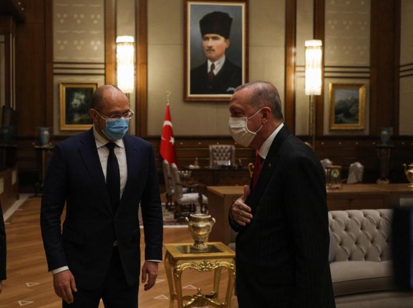 Шмигаль зустрівся з президентом Туреччини: про що домовились