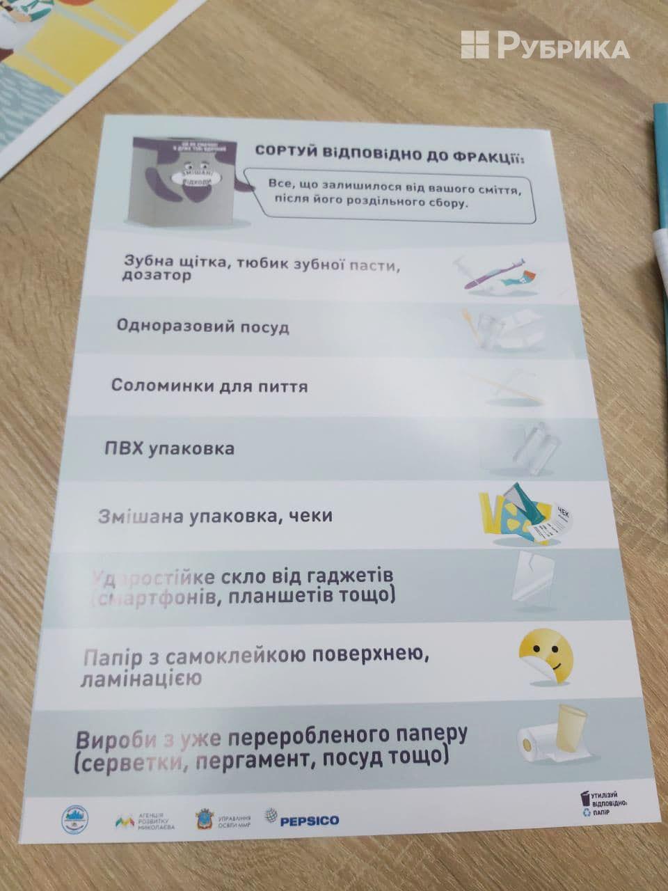сортування сміття Миколаїв