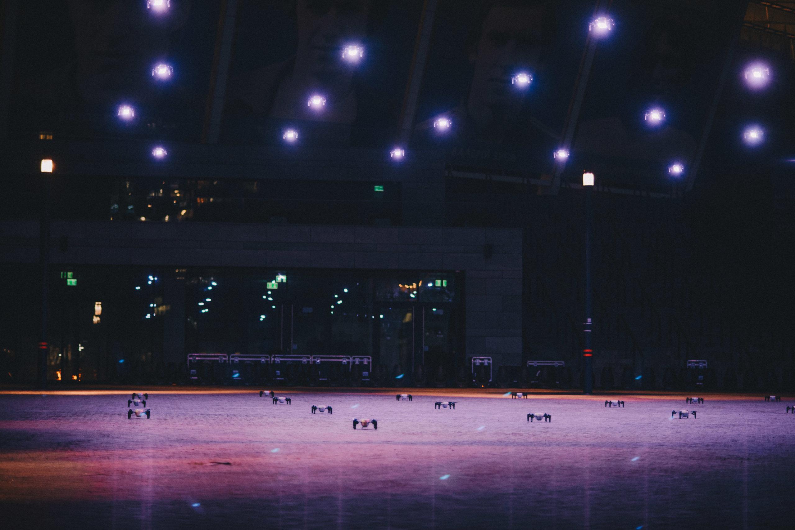 Над Києвом відбулося світлове шоу до Року обізнаності про рак легені: фото