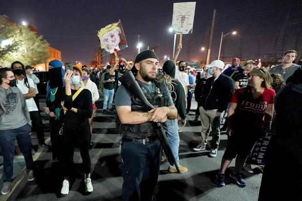 Протесты в Фениксе / Фото АР