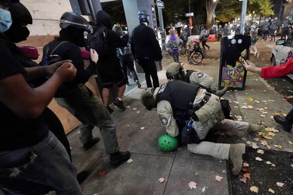 Протесты в Орегоне / Фото АР