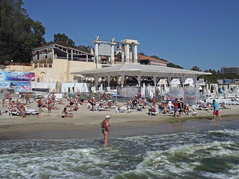 Пляж Аркадія в Одесі