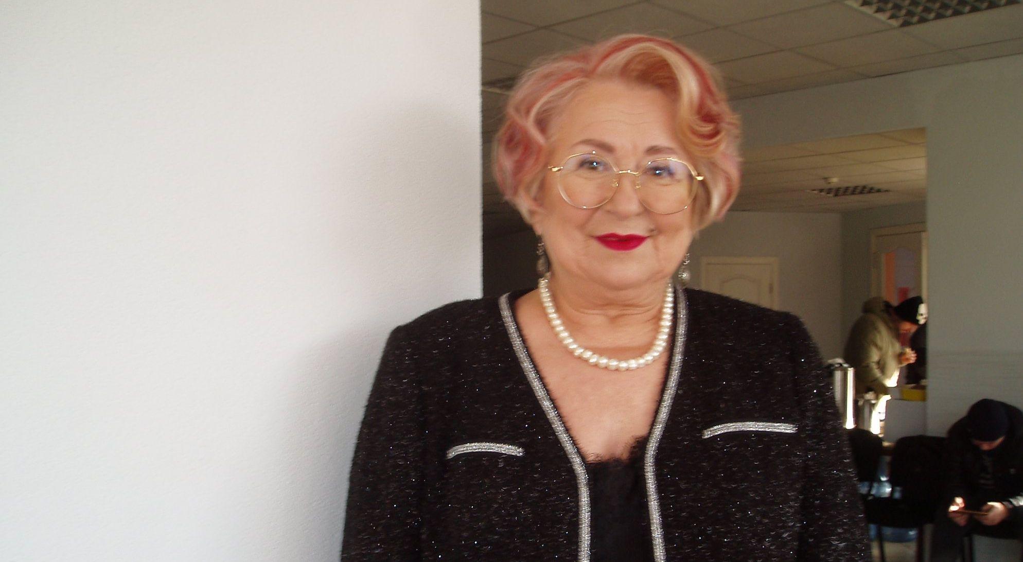 74-річна лікарка-бактеріолог зі Львова Христина Гоянюк