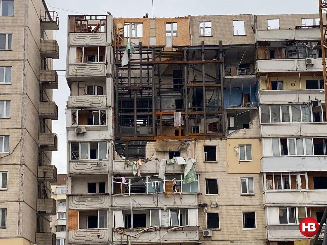 Вибух на Позняках: мешканці будинку створили артоб'єкт у