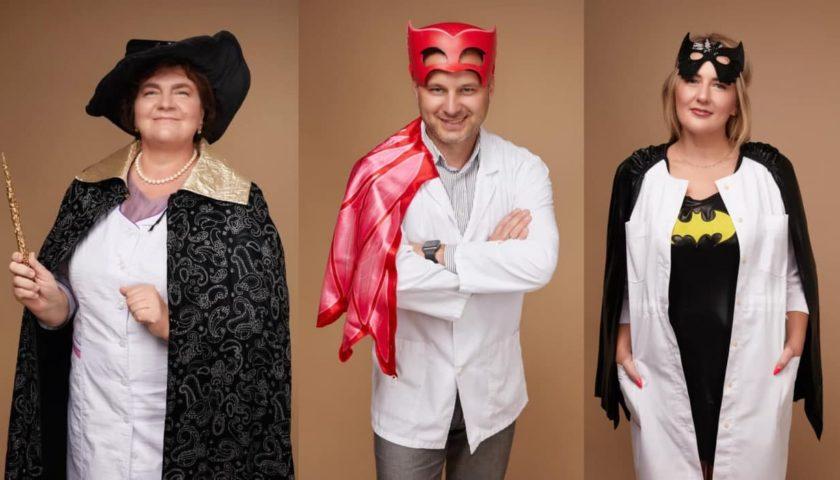 Львовские врачи стали супергероями для детей