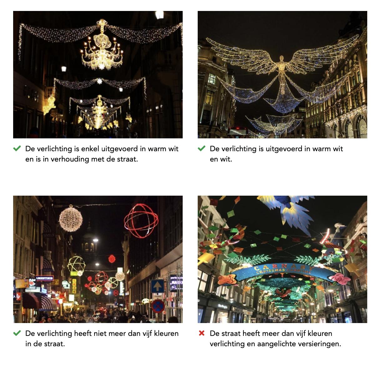 Лише LED ліхтарики: в Амстердамі ввели нові правила різдвяного декорування міста