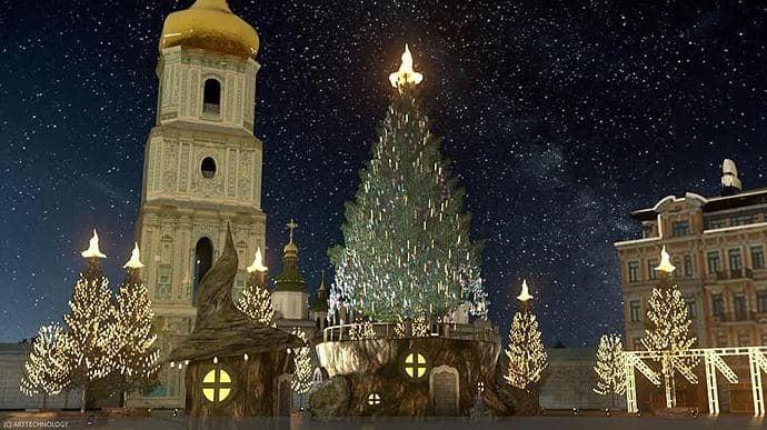 Новорічний маршрут та ялинки: як у Києві відзначатимуть Новий рік