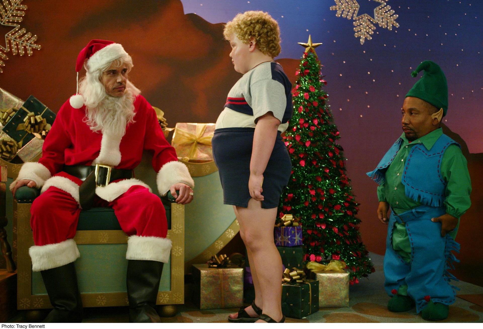 Поганий Санта (2003) і Поганий Санта 2