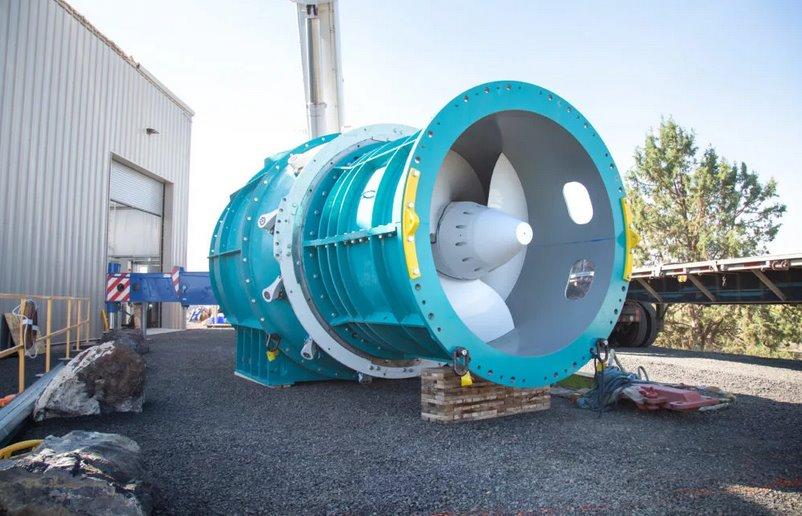 Безопасные турбины для гидроэлектростанций