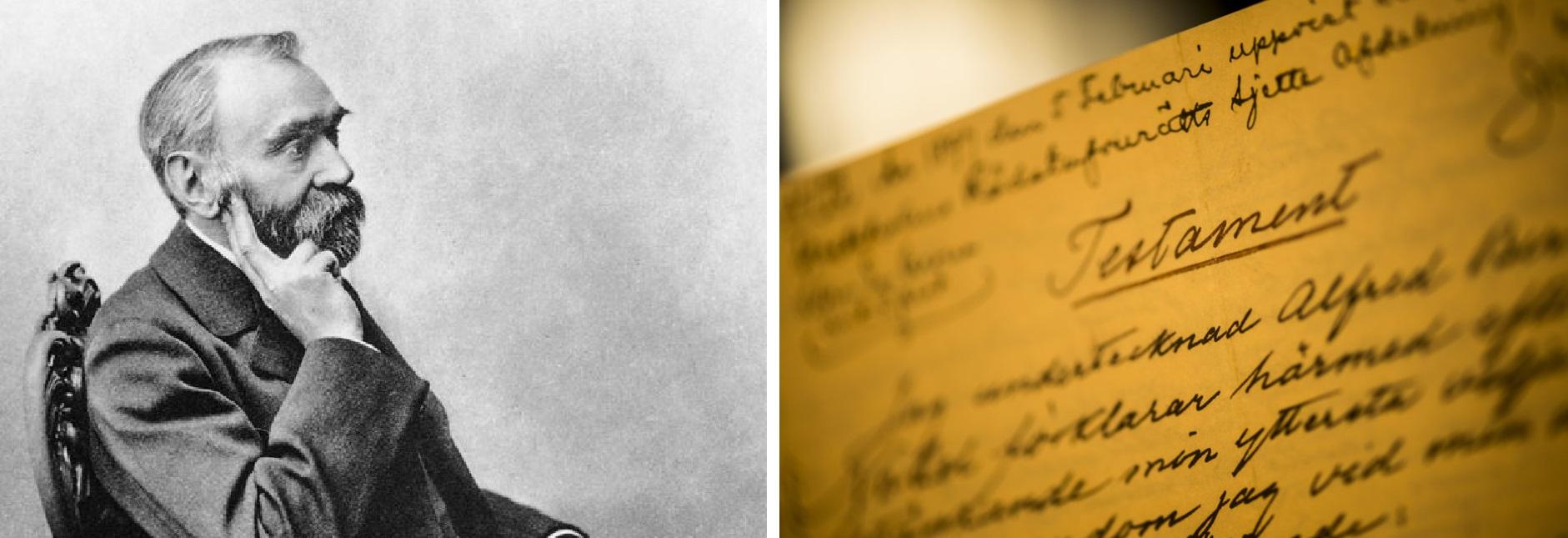 Альфред Нобель і його заповіт