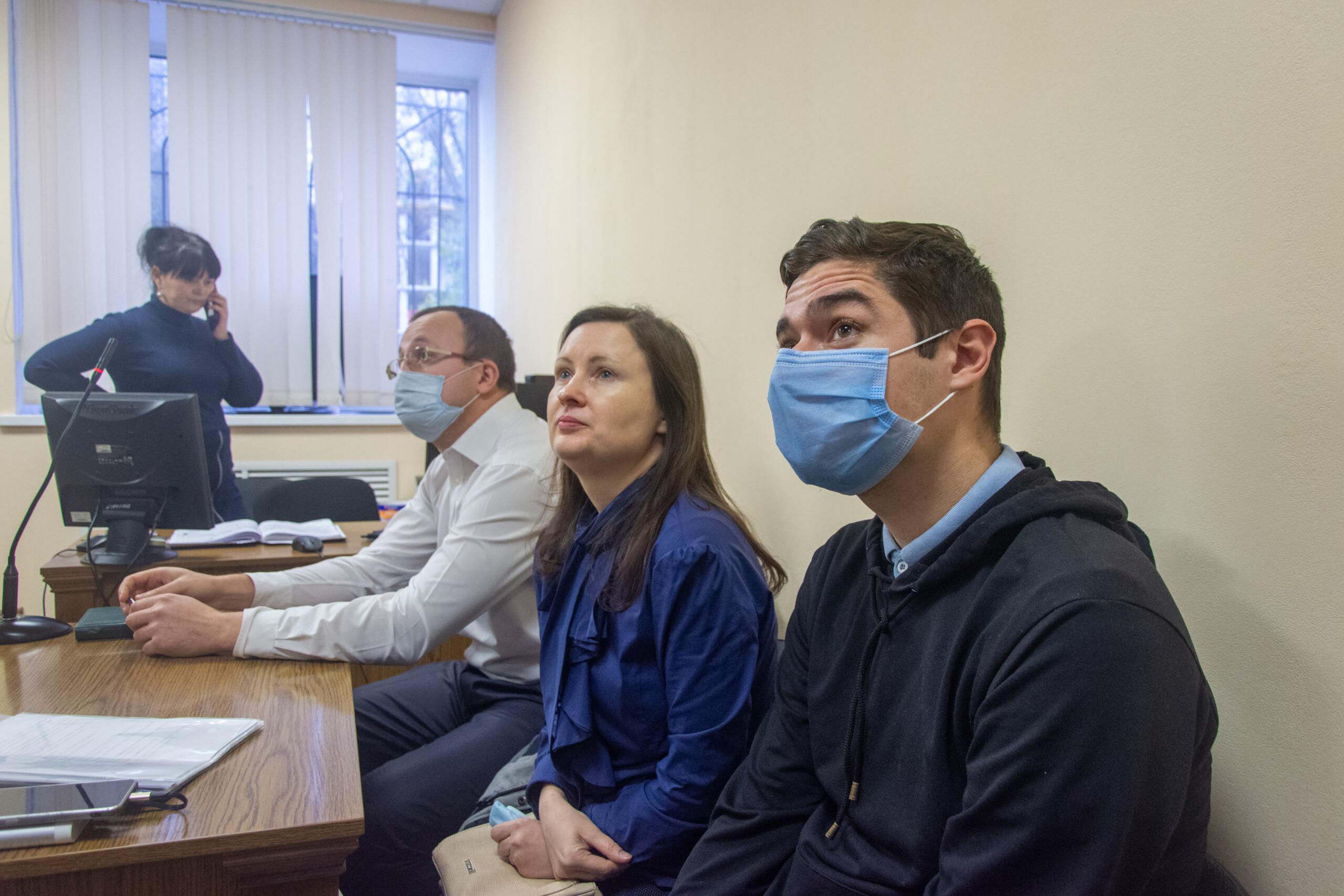 Віталій Устименко у суді. Фото: Максим Пшибишевський