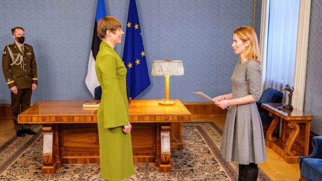 Естонія стала єдиною країною в світі, яку очолили тільки жінки