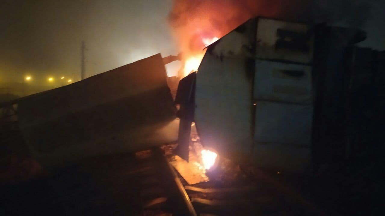 Пожежа на Азовсталь
