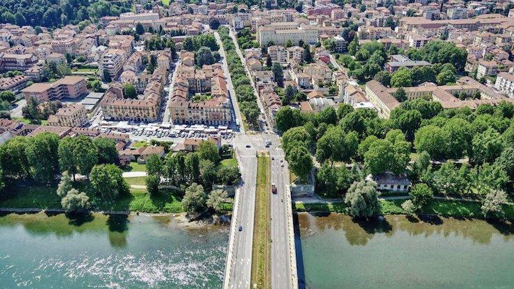 В Італії облаштували парк на закинутих трамвайних коліях: фото