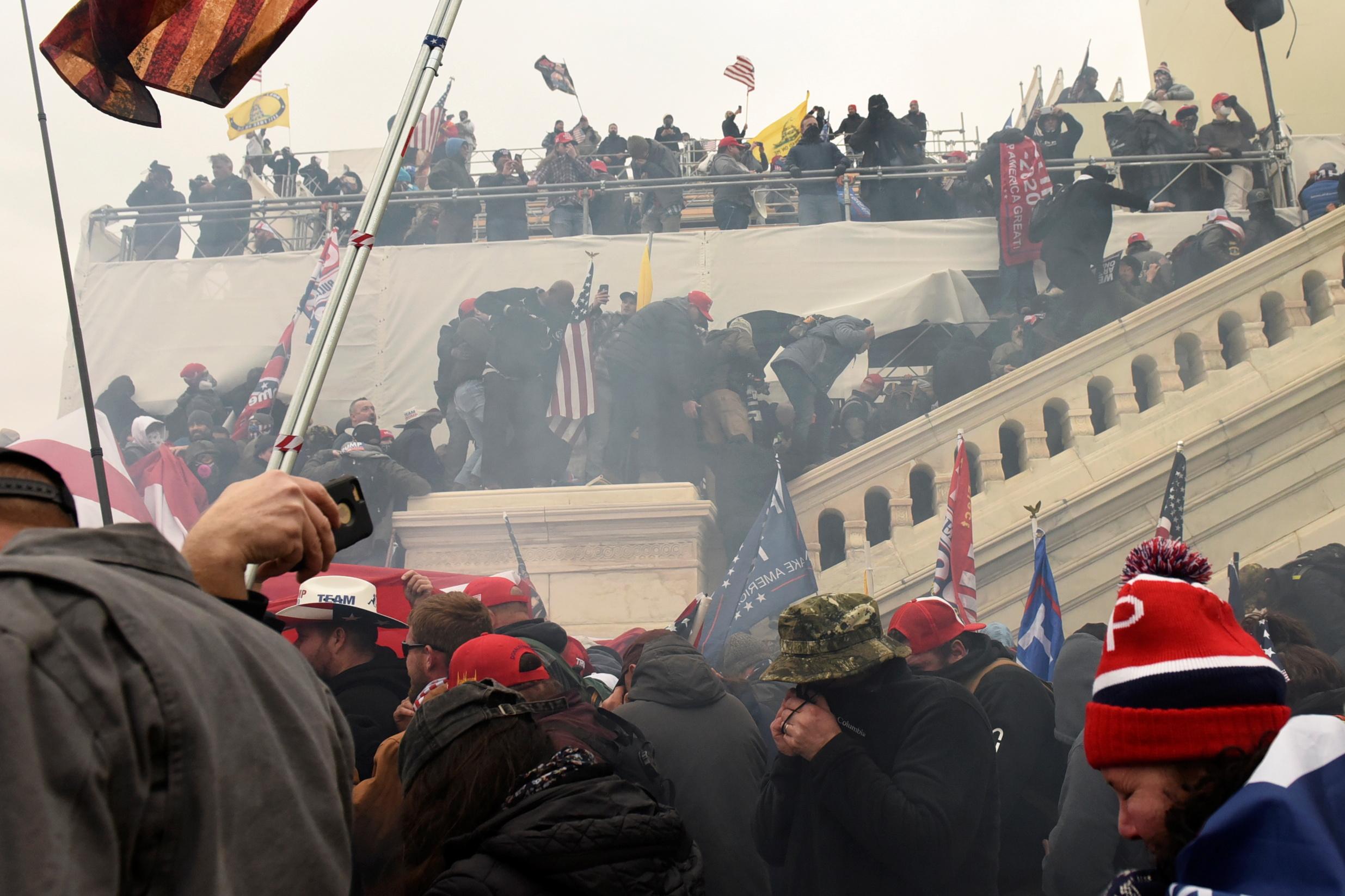 США протести Вашингтон
