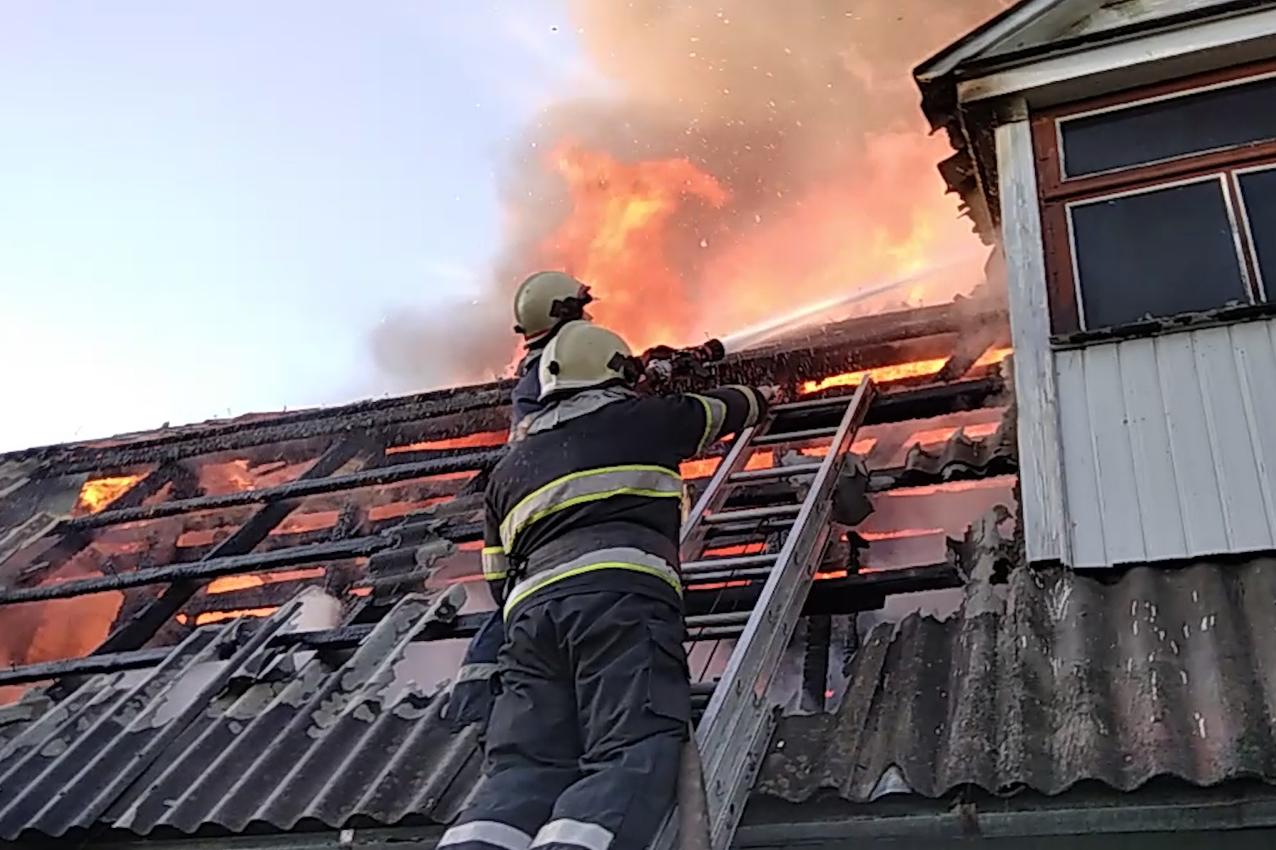 Пожежа в монастирі УПЦ МП
