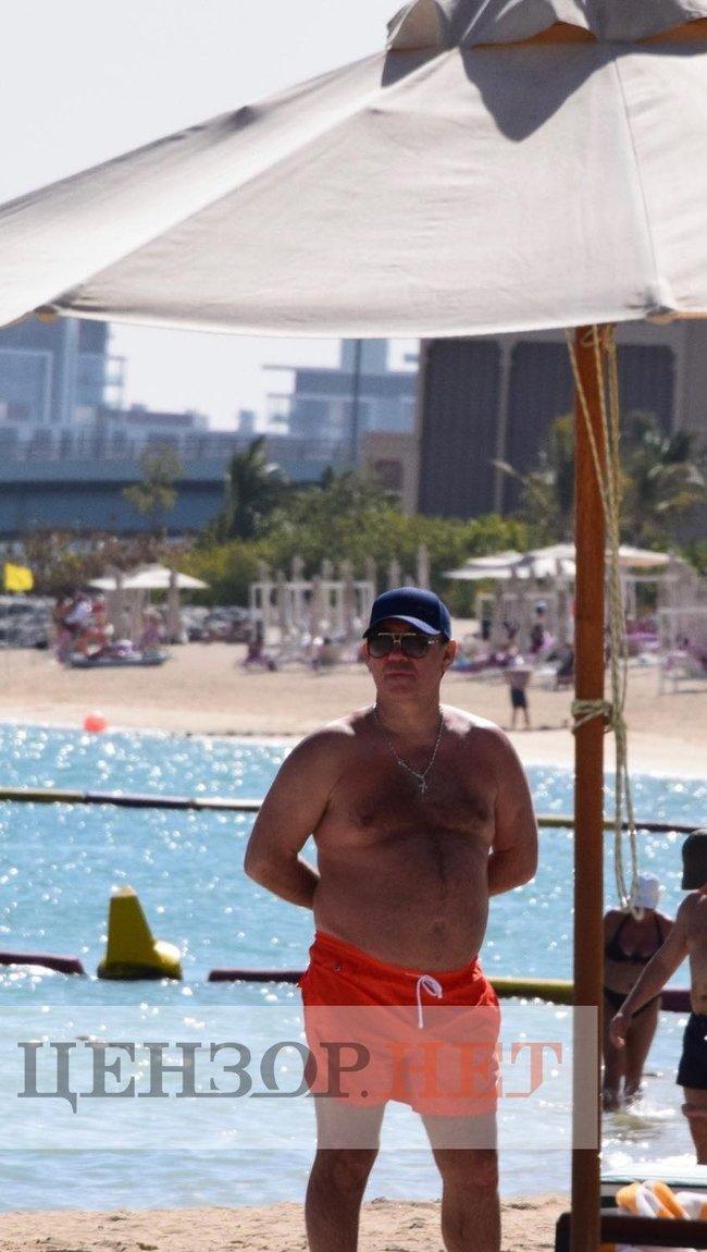 ЗМІ показали розкішний відпочинок Тупицького в Дубаї: фото