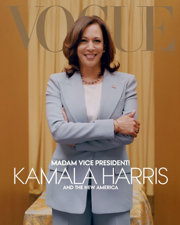 Майбутня віцепрезидент США у кедах потрапила на обкладинку Vogue