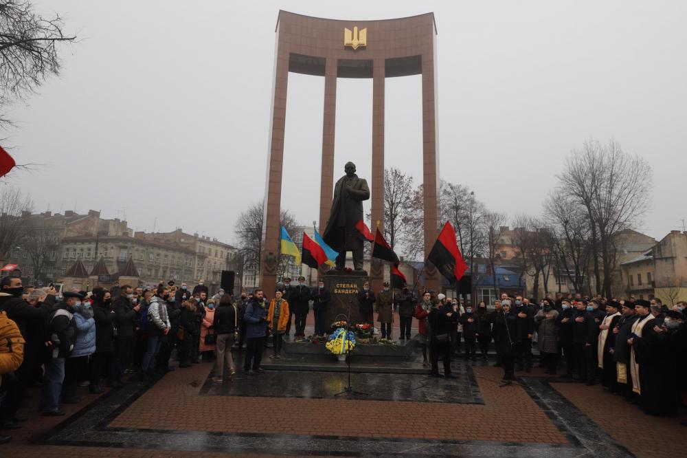 Святкування 112 річниці народження Бандери у Львові