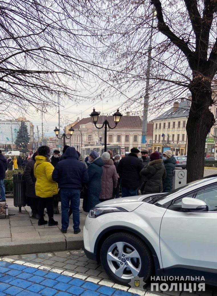 акція проти тарифів на Буковині