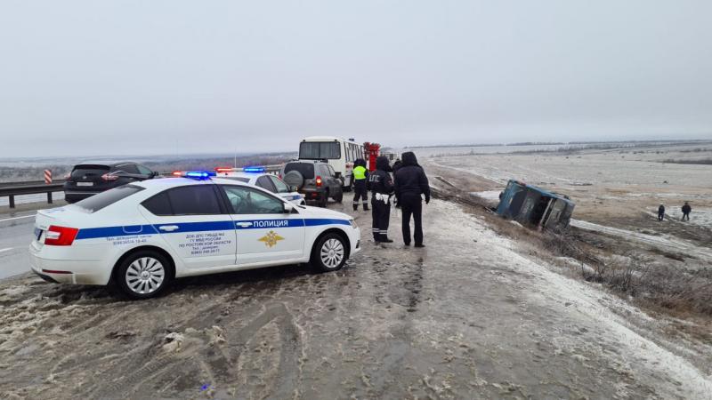 автобус перекинувся в росії