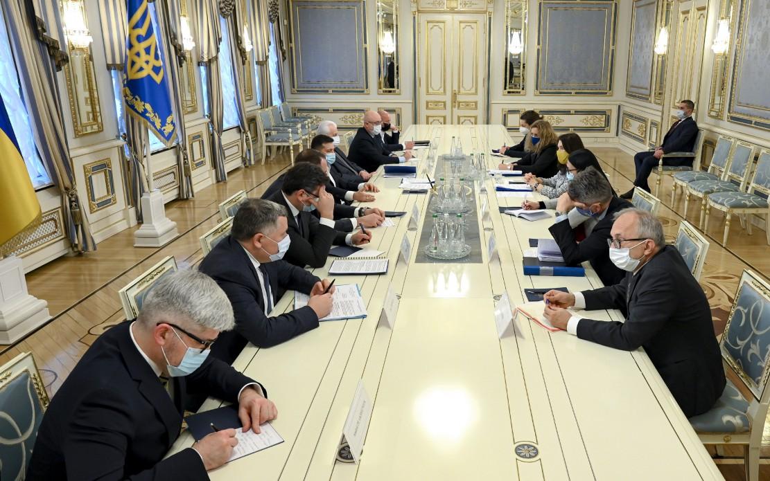 Президент України і голова ОБСЄ