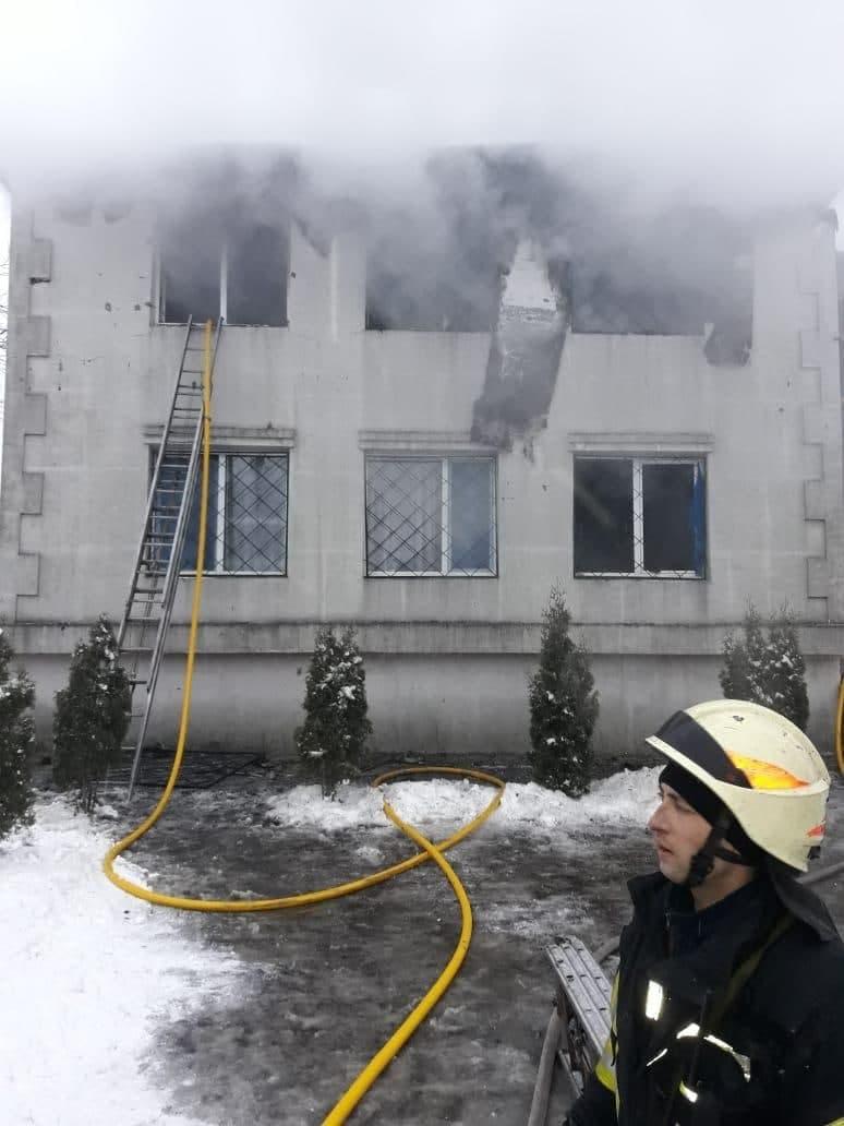 Під час пожежі в будинку для літніх людей у Харкові загинули 13 осіб