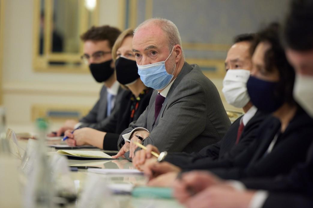 Зеленський зустрівся з послами G7: про що говорили