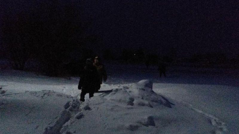 Як фельдшер 2 км тягнув хворого на плечах через сніг