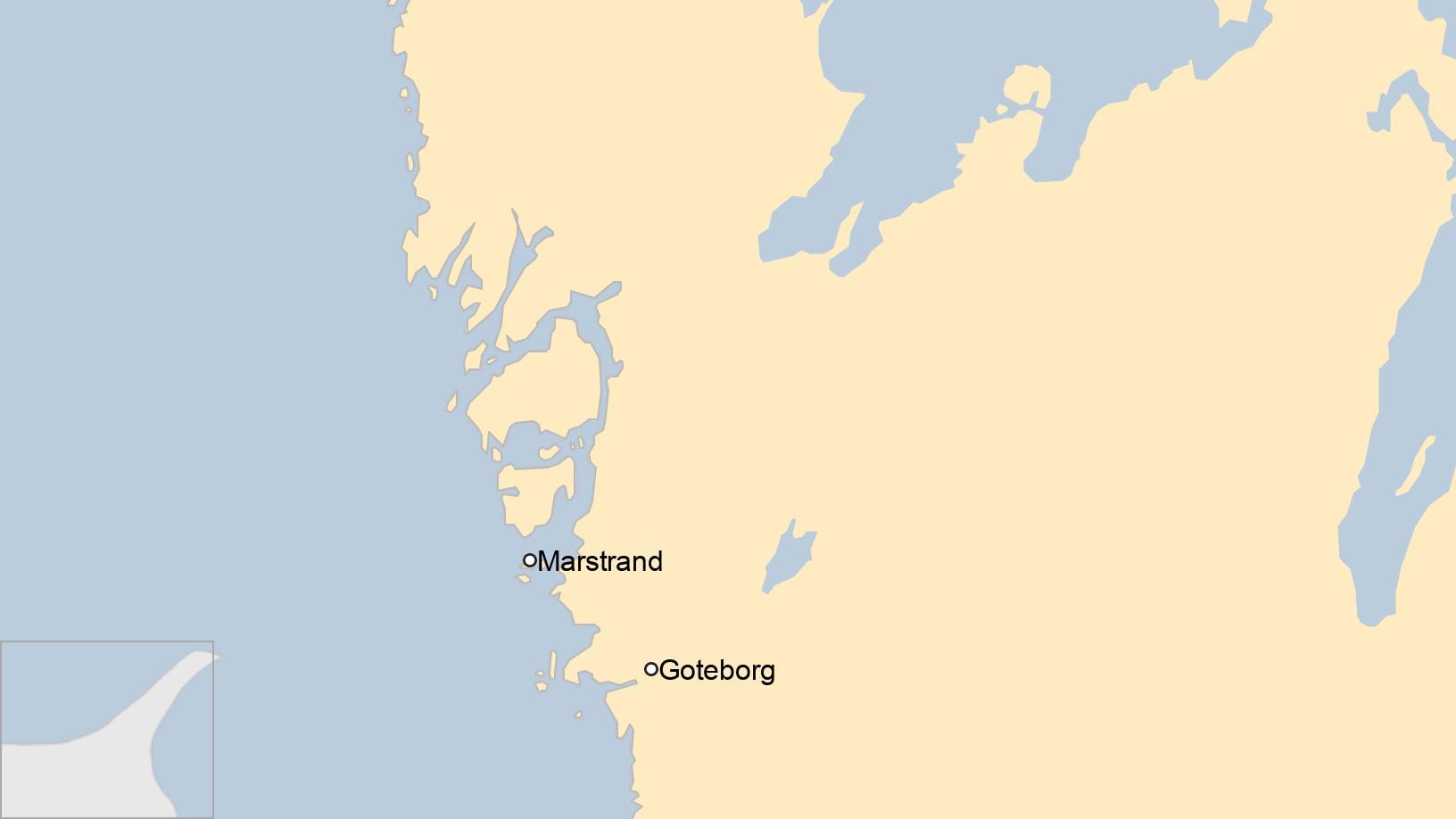 острів Хамнескар біля узбережжя Швеції