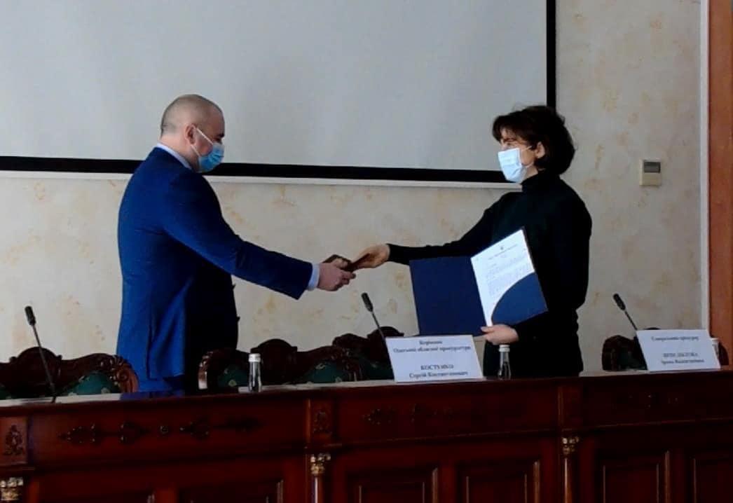 Венедіктова представила нового прокурора Одеської області