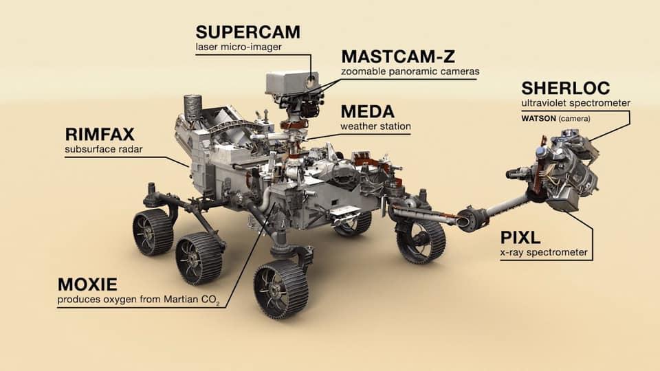 Марсохід NASA перше фото