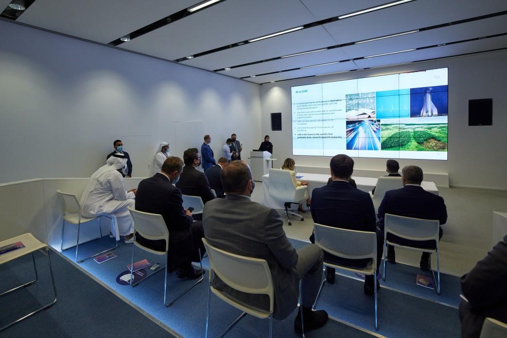 Зеленський в Абу-Дабі ознайомився з проектом інноваційного міста