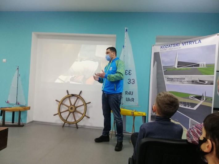 Дітей з Черкас навчатимуть вітрильному спорту