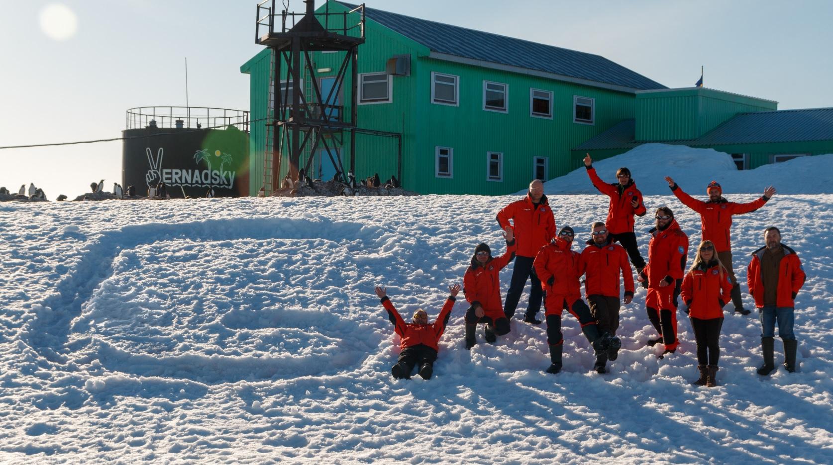 Відповідь на дудл на арктичній станції